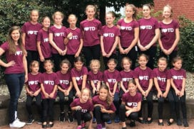 Tanzgruppen TUS Treudeutsch 07 Lank, Juni 2018